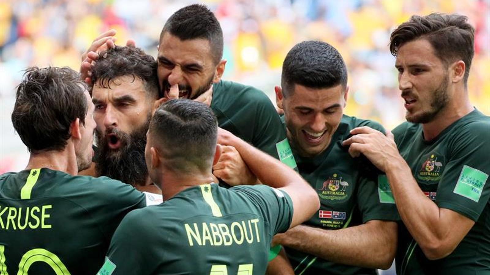 Austràlia atura els danesos a Samara (1-1)