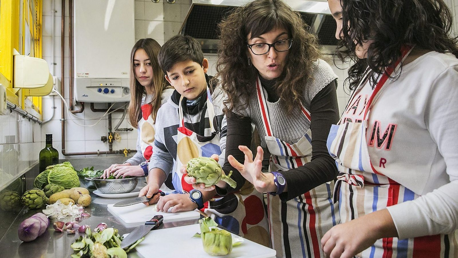 Innovació educativa  Noves maneres d'aprendre / FOTO: PERE VIRGILI