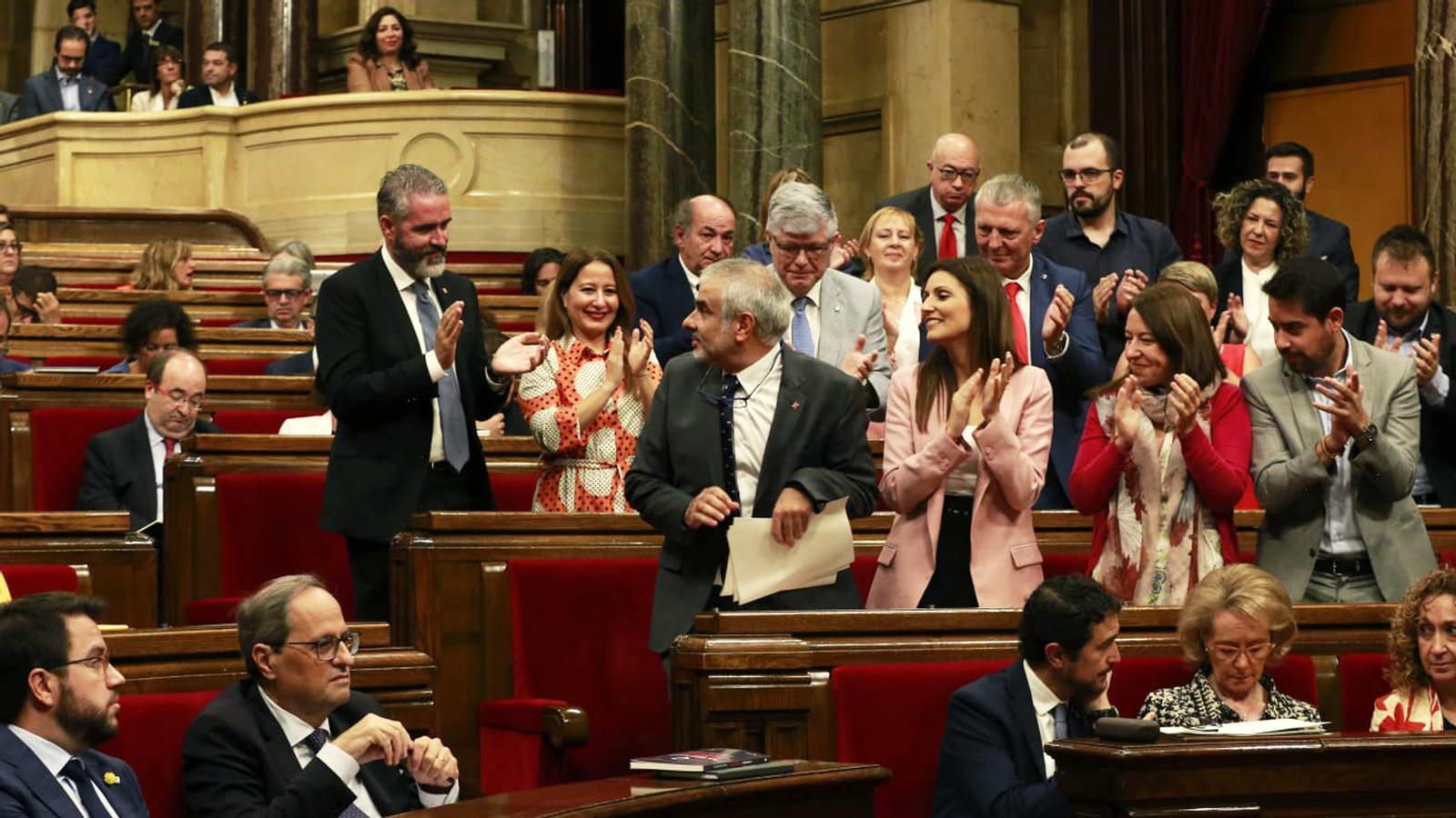 L'anàlisi d'Antoni Bassas: 'Senyor Carrizosa, per què mira cap enrere?'