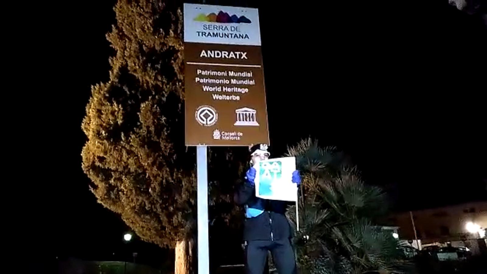 L'arribada a Andratx de Tòfol Castanyer