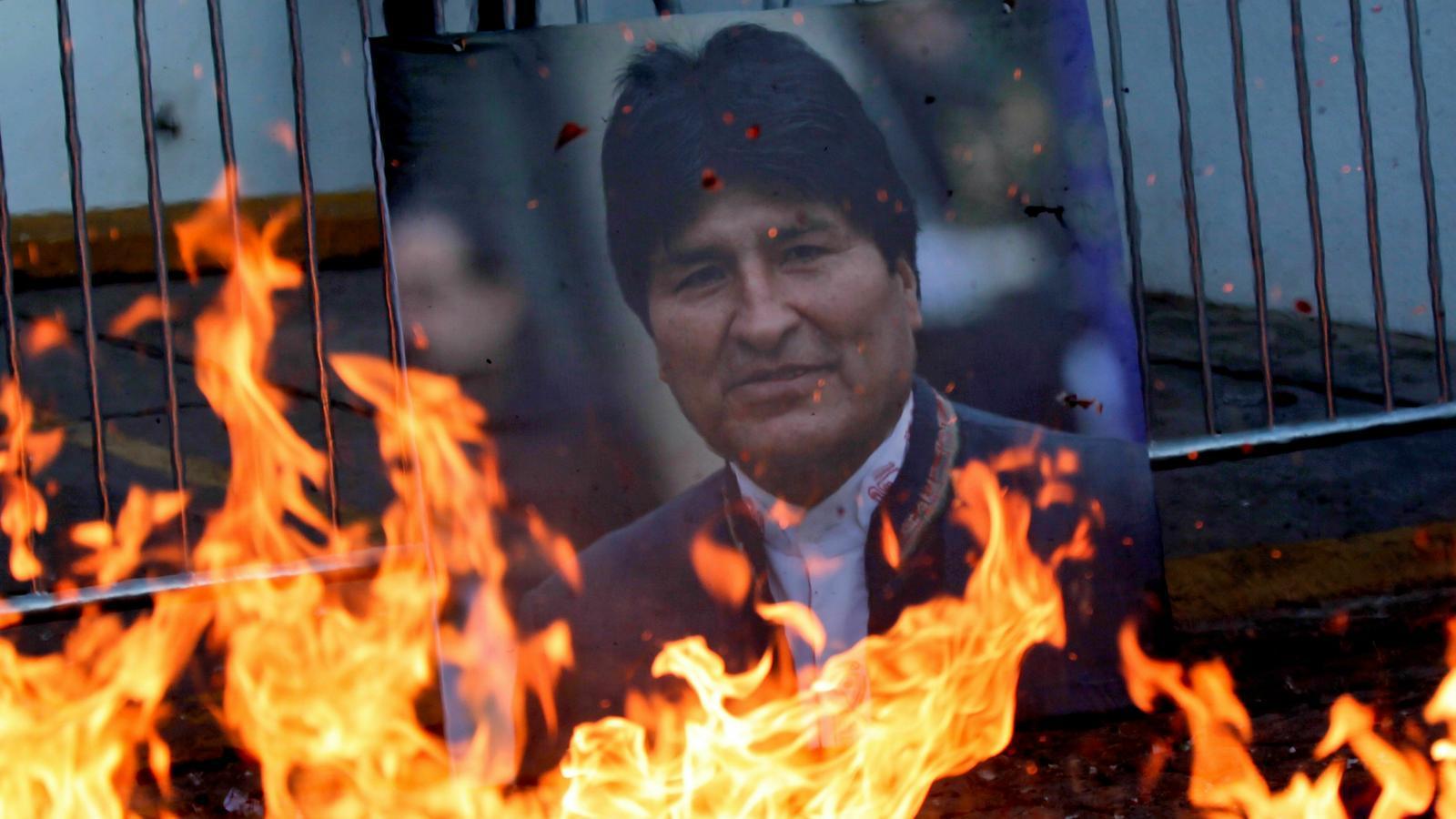 El govern transitori de Bolívia acusa Morales de terrorisme