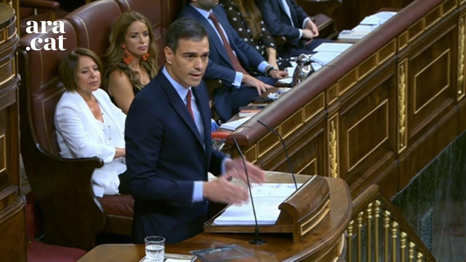 """Sánchez: """"L'Espanya de les autonomies va ser i és una gran idea"""""""