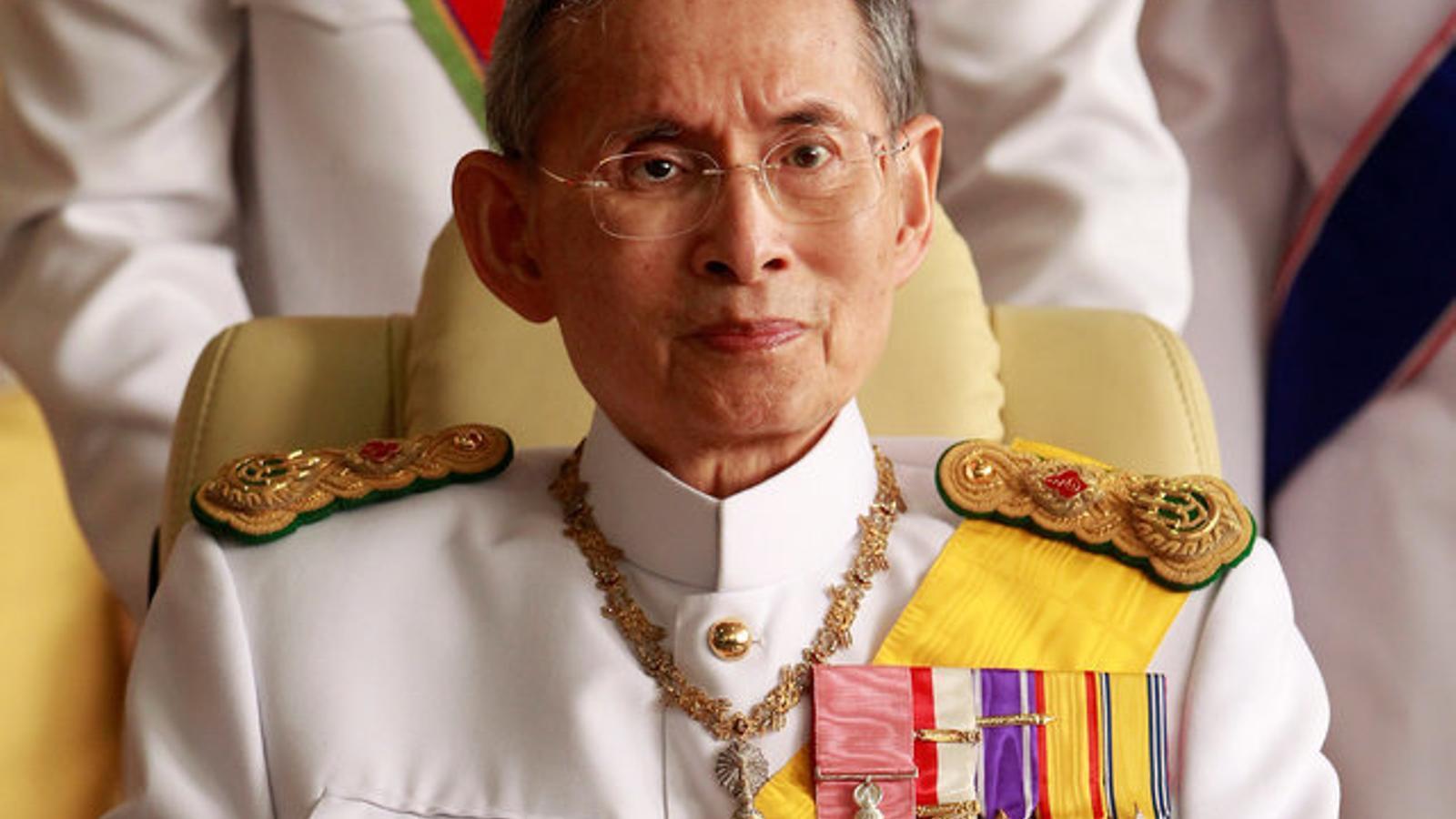 Mor el rei de Tailàndia, Bhumibol Adulyadej
