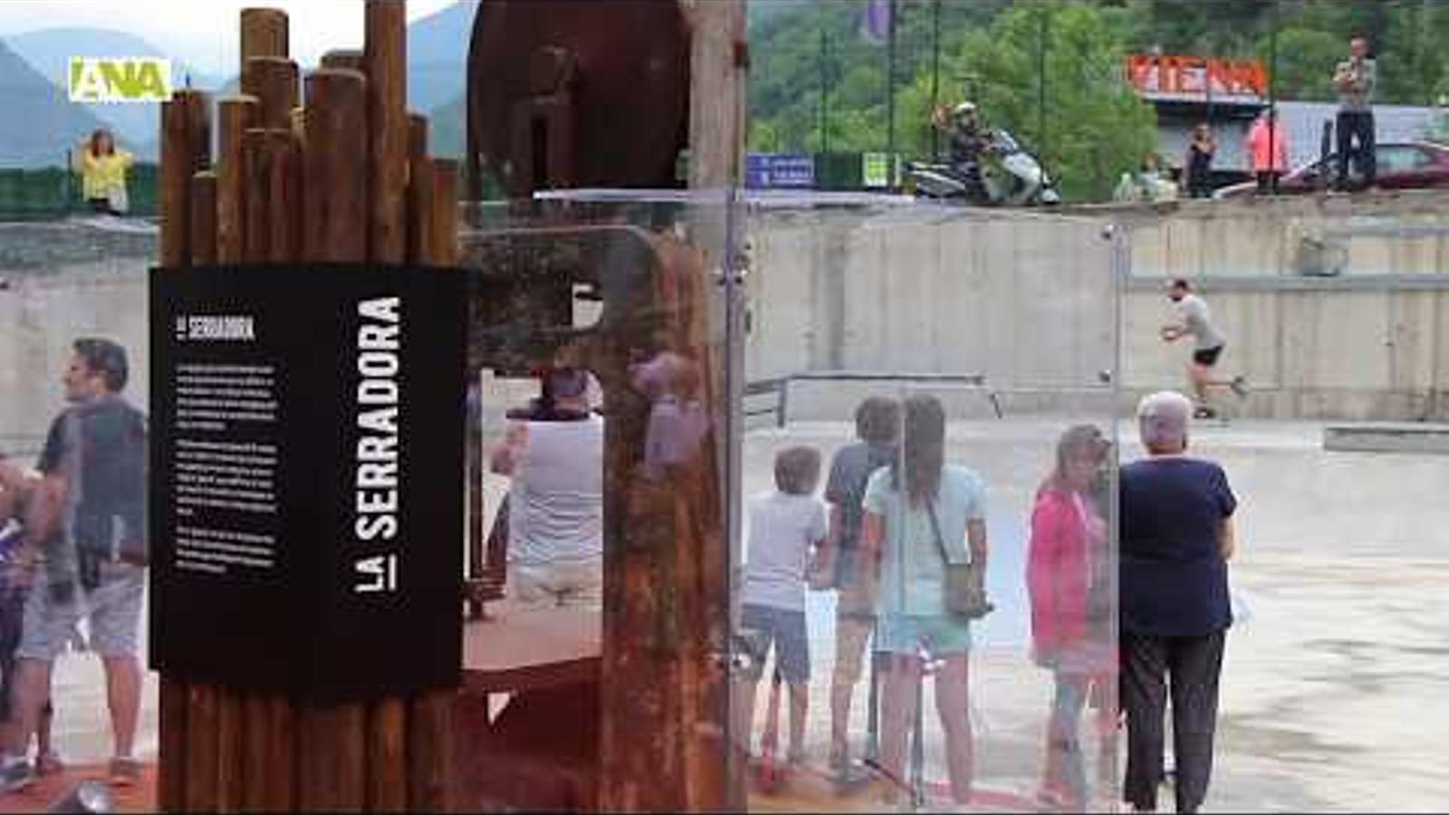 Santa Coloma estrena un nou espai d'esbarjo