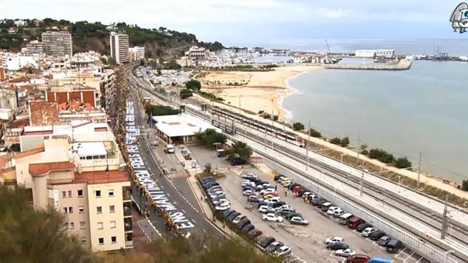 Via Catalana: Tram 481 (Ràdio Arenys)
