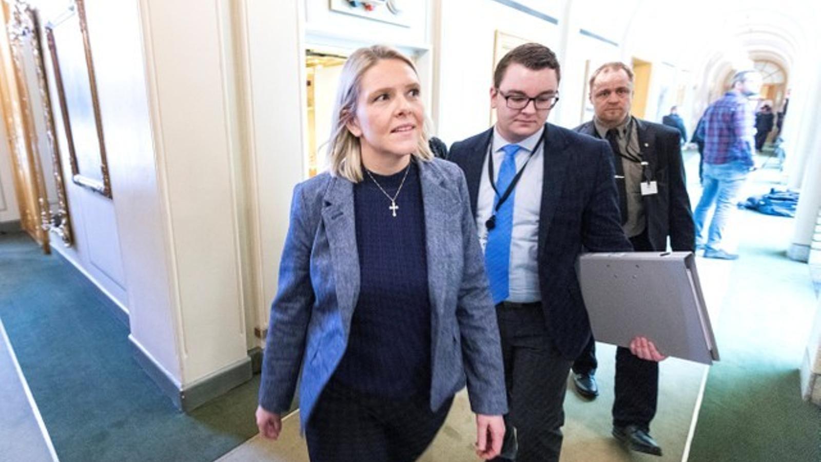 Dimiteix la ministra de Justícia noruega per salvar la coaliació de govern