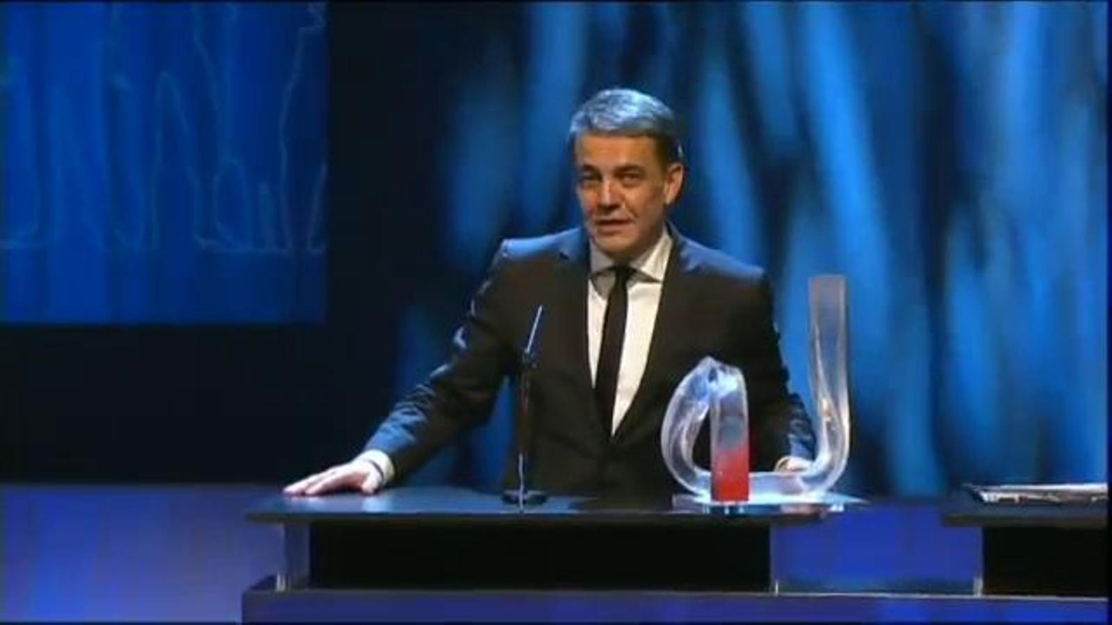Discurs íntegre de Puyal, a la gala del Català de l'Any
