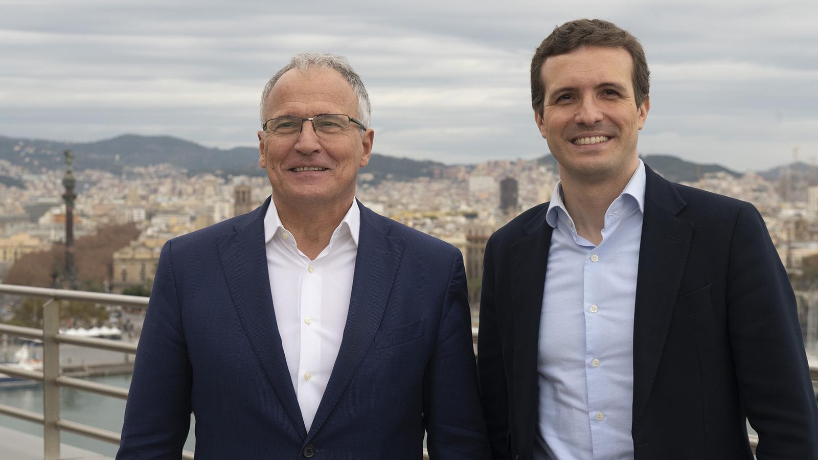 L'alcaldable del PP de Barcelona va militar a Fuerza Nueva