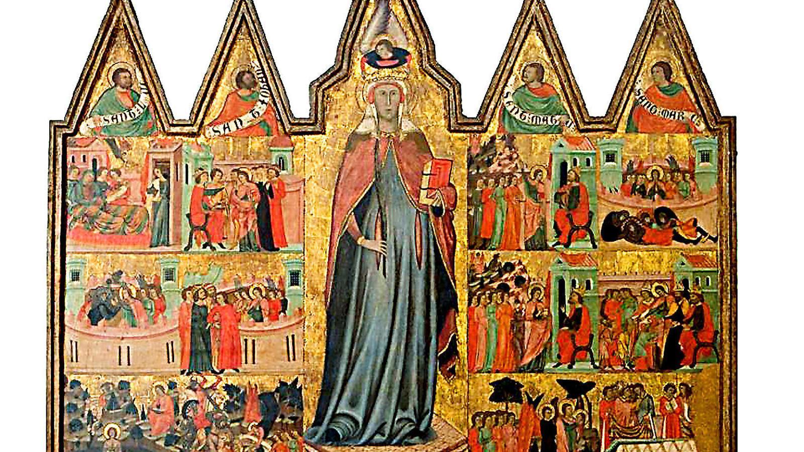 Sis peces medievals, afectades per la climatització del Museu de Mallorca