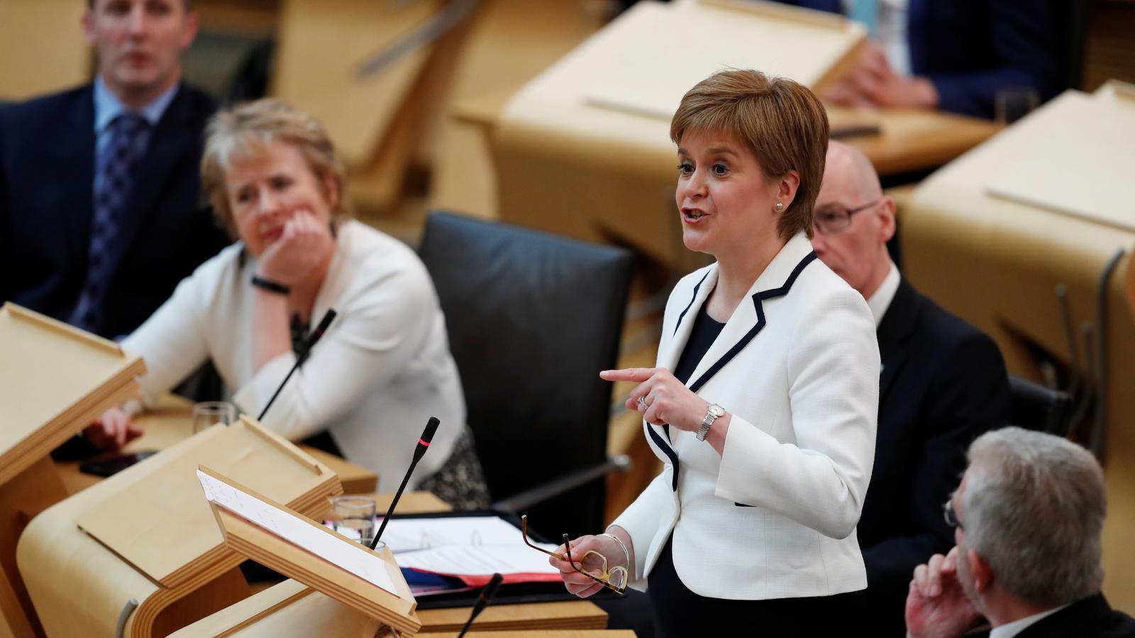 Nicola Sturgeon vol fer el segon referèndum d'independència d'Escòcia abans del maig del 2021