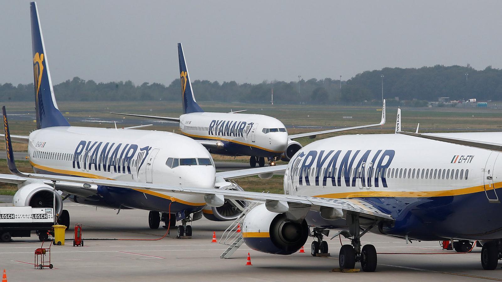 Alguns avions de Ryanair no volaran aquest divendres.