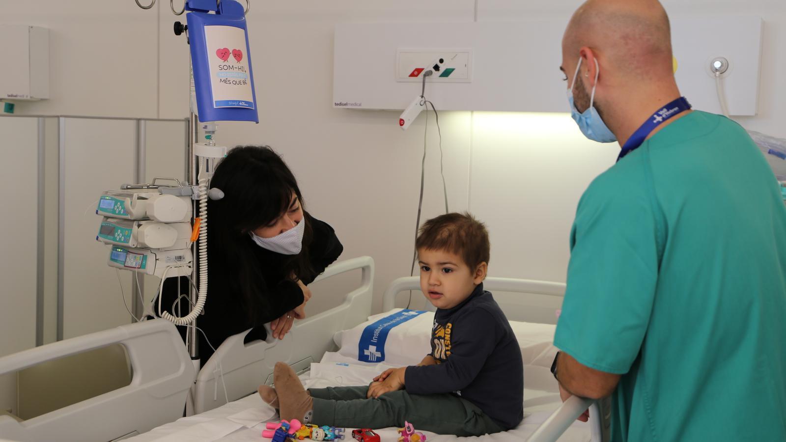 Imatge d'un pacient de la Vall d'Hebrón