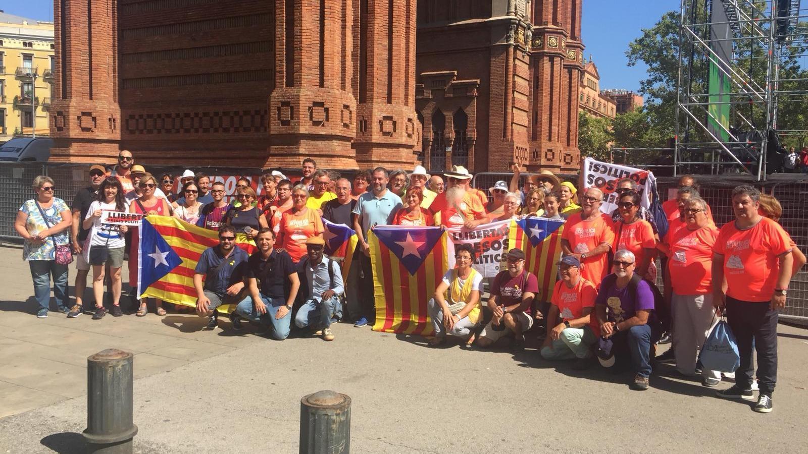 Les Illes Balears amb la Diada de Catalunya, els presos i els exiliats