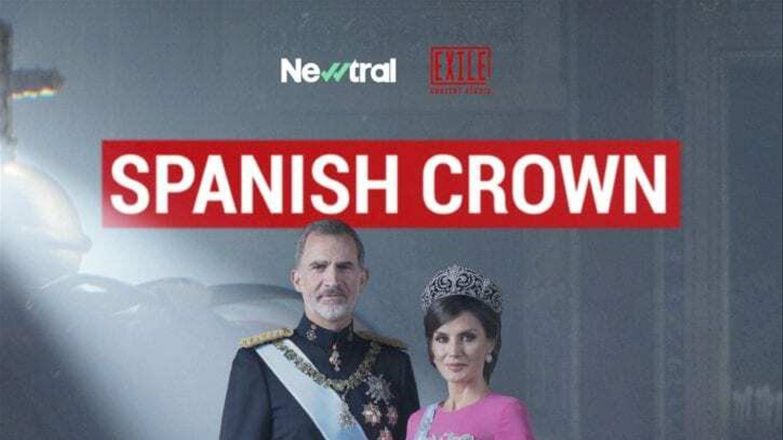 Cartell promocional de la sèrie, que en la versió internacional es titularà 'Spanish crown'