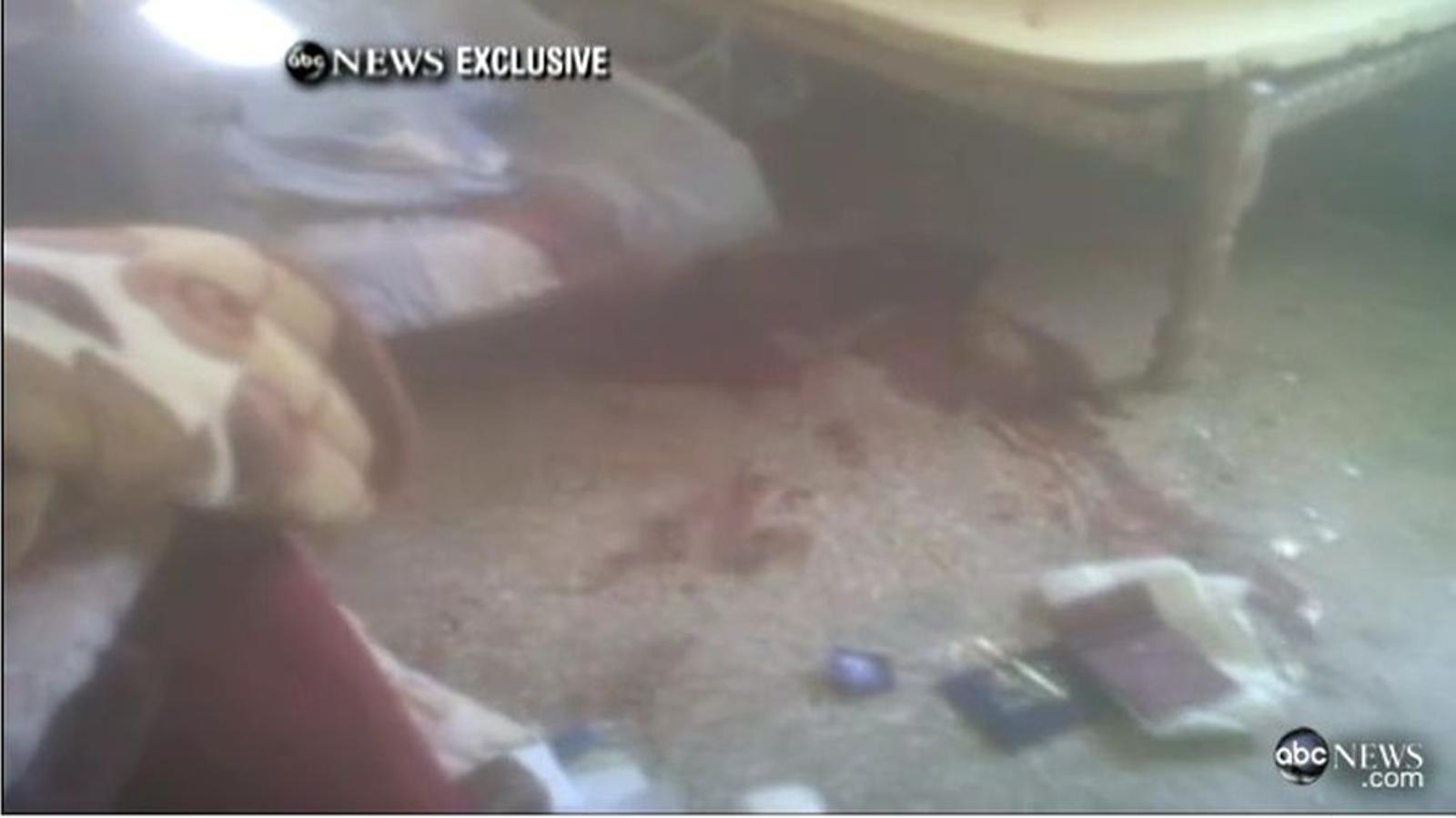 Imatges de l'interior de la residència de Bin Laden, després de l'operació nord-americana