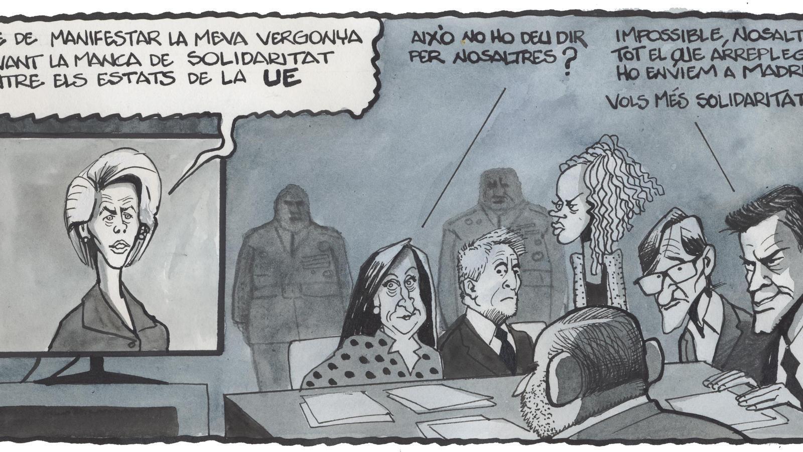 'A la contra', per Ferreres 29/03/20