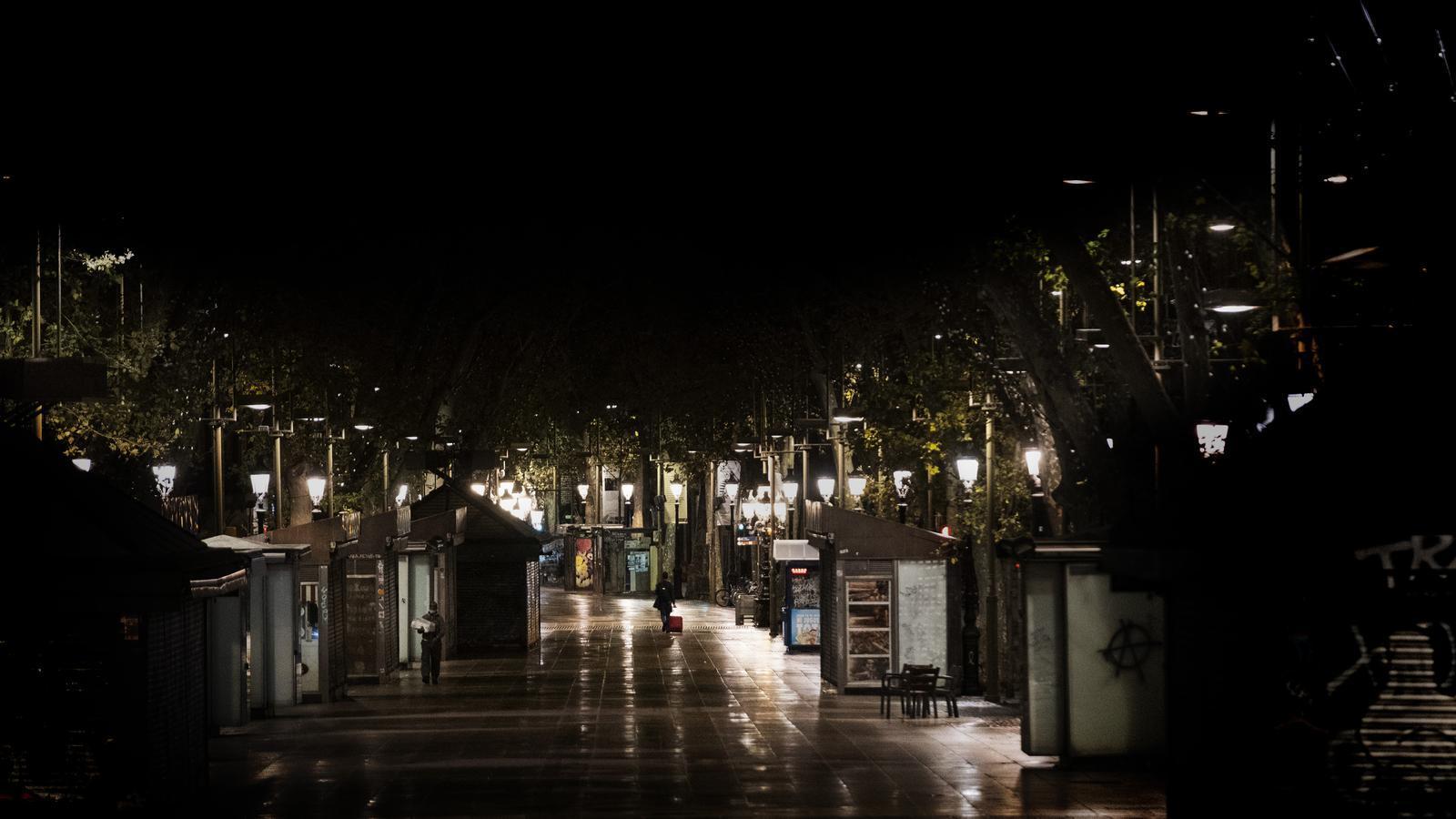 La Rambla de Barcelona, escenari de novel·la negra.