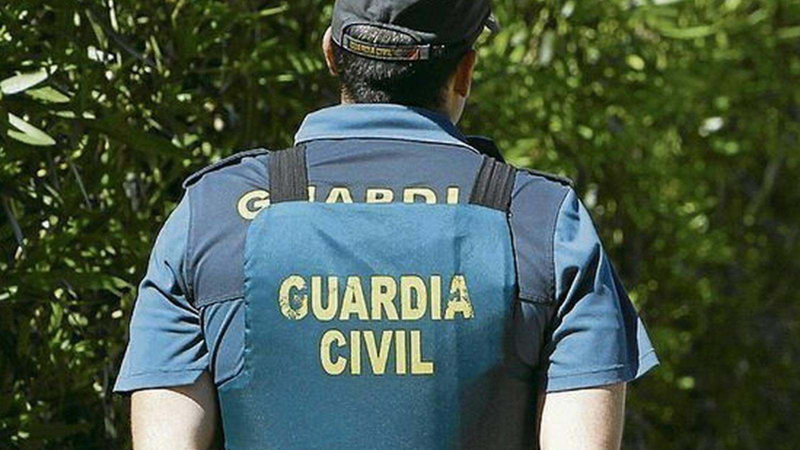 Agent de la Guàrdia Civil. Imatge d'arxiu