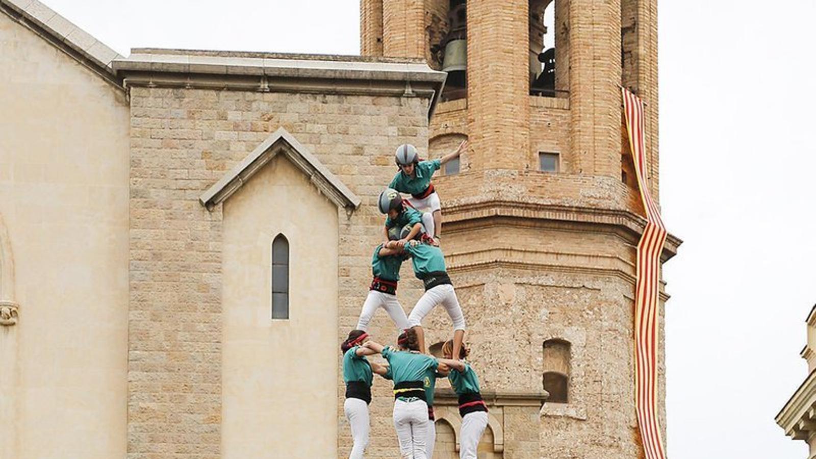 Sabadell esprepara per acollir la I Mostra Castellera de Secundària