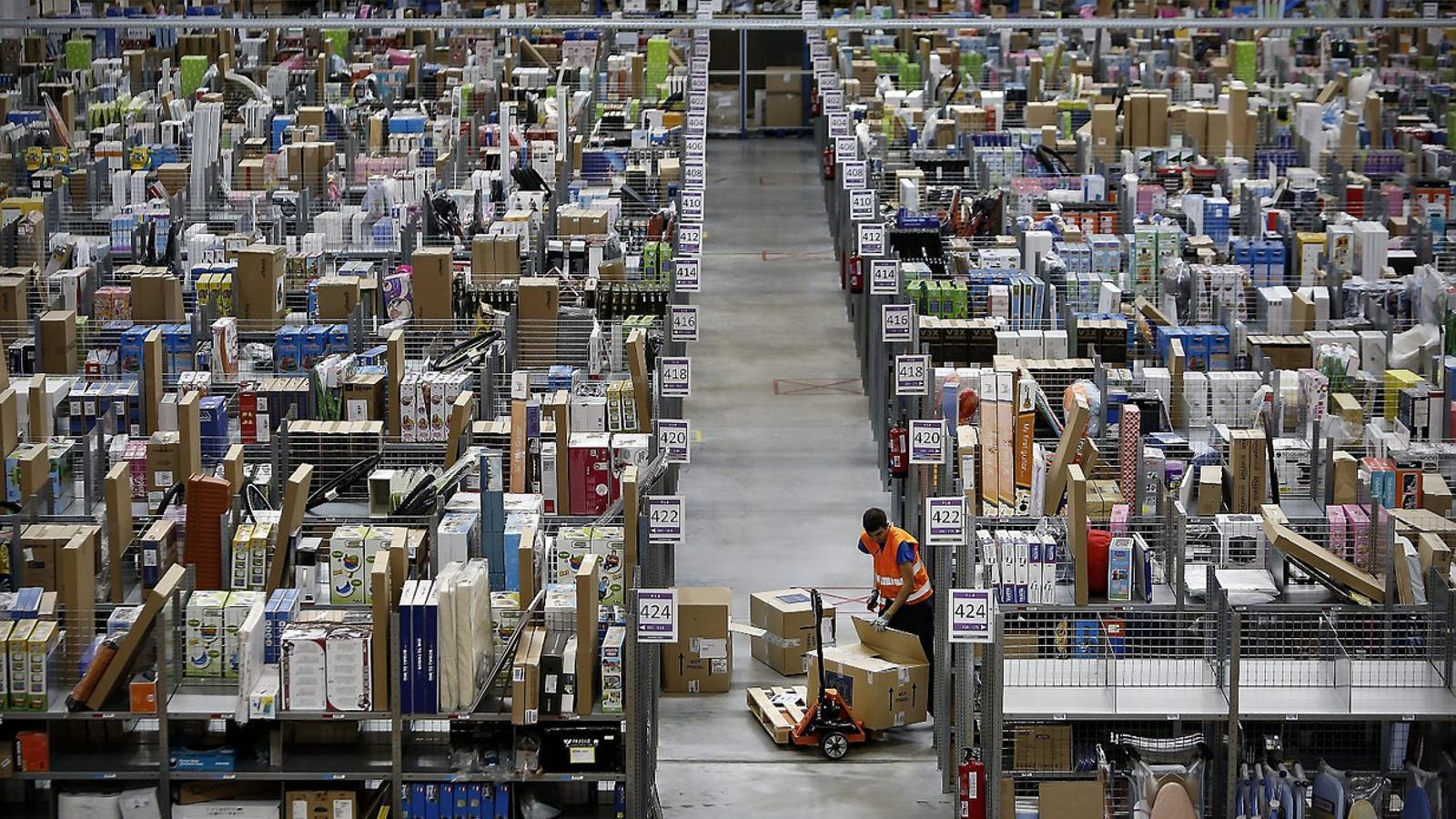 Amazon ja té a Madrid les oficines centrals a Espanya i un centre logístic.