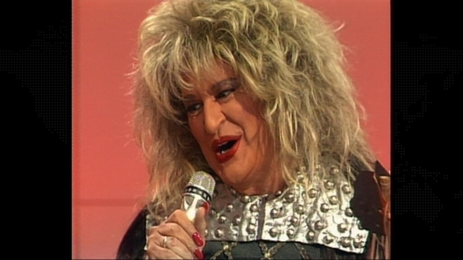 Santi Sans imita Tina Turner al 'Filiprim'