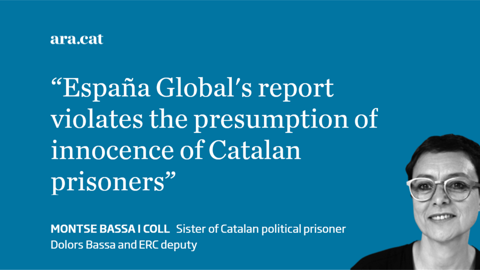 Global Spain: a finger-pointing campaign