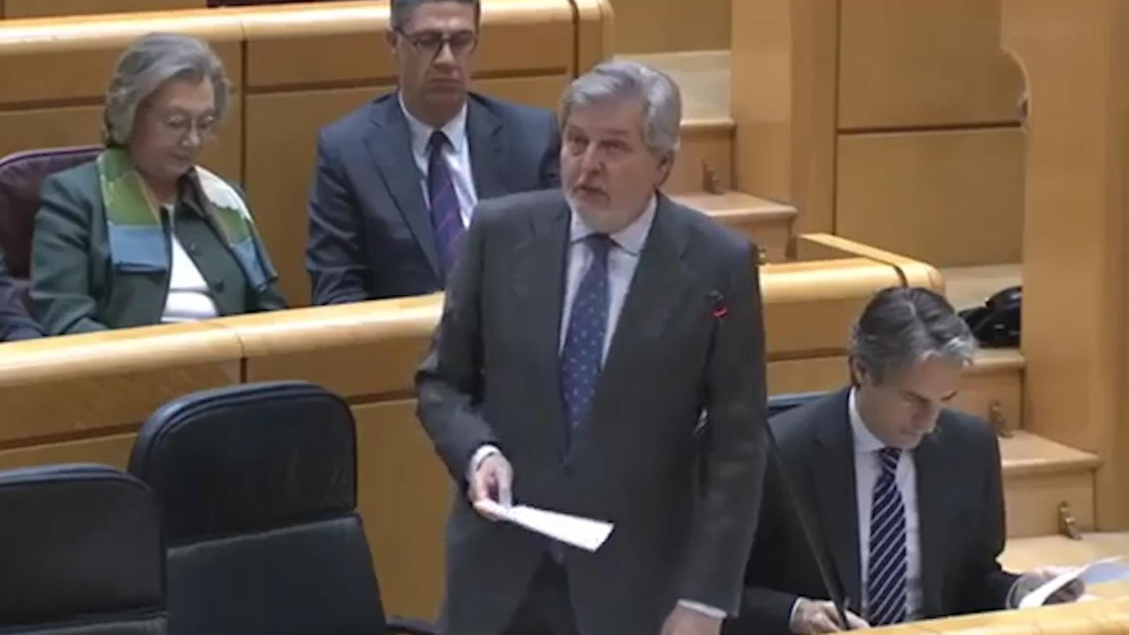 Méndez de Vigo diu els aranesos estan més preocupats per les allaus que per la llegua