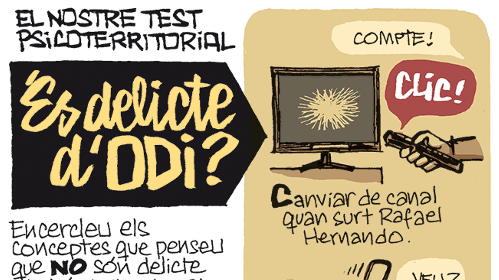 No a tot (19): la tira de Manel Fontdevila