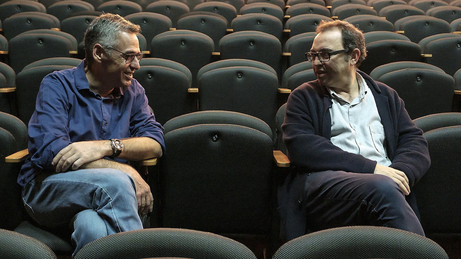 "Jordi GalceranSergi Belbel: ""Si vols fer teatre comercial o popular te n'has d'anar a Madrid"" Jordi Galceran"