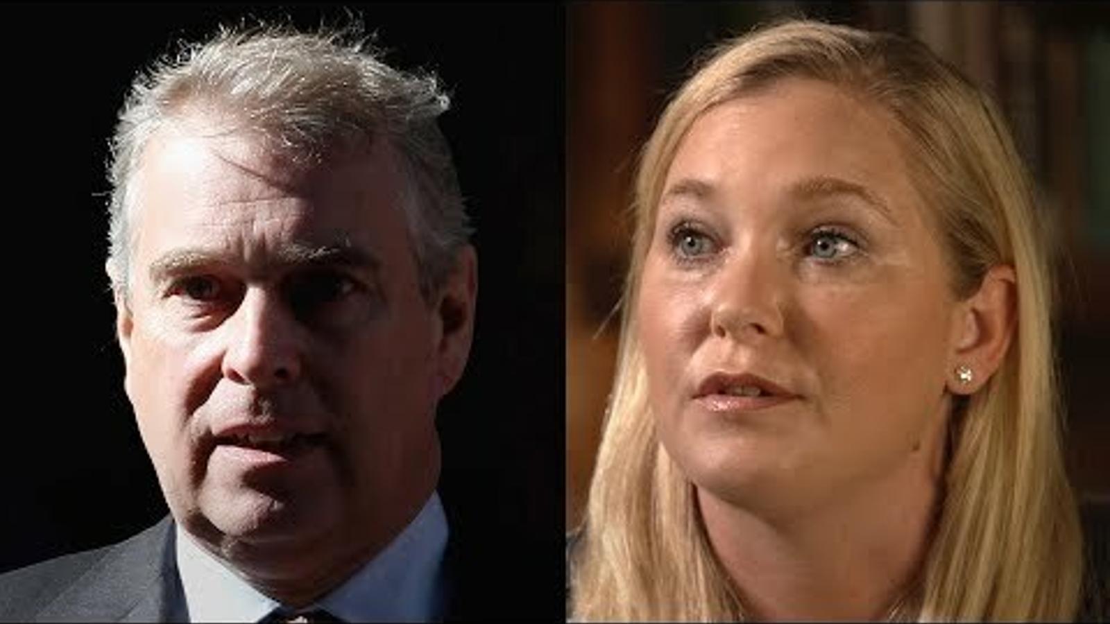 Acusacions i negacions de Virginia Guiffre i el príncep Andreu