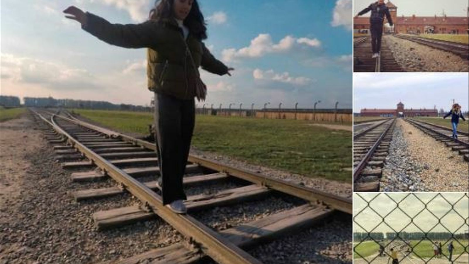 """El Museu d'Auschwitz demana als turistes que no es facin fotos  """"frívoles"""" a les vies del tren per respecte a les víctimes de l'Holocaust"""