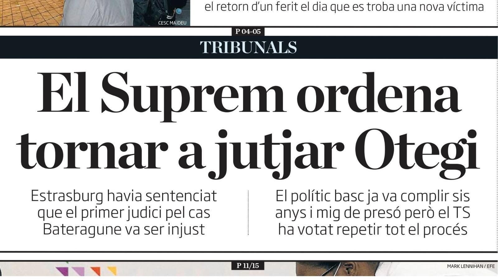 L'anàlisi d'Antoni Bassas: 'El Suprem i la sala política de la justícia'