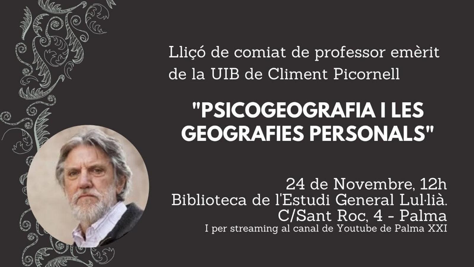 La geografia personal de Climent Picornell