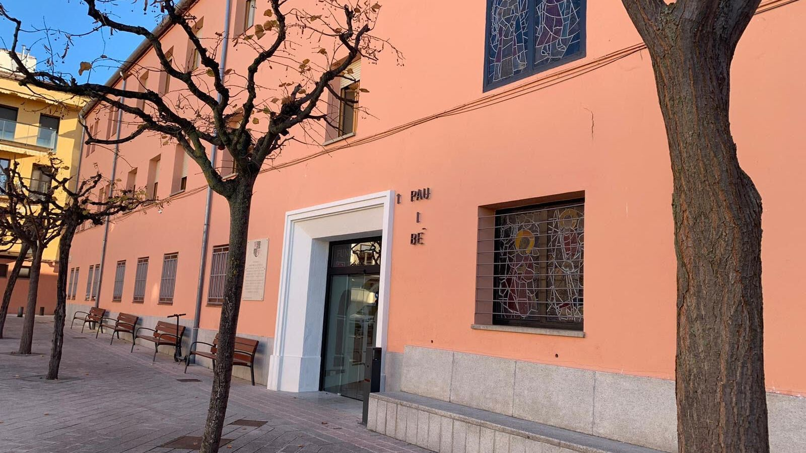 La façana principal de la residència de Tremp. / G.L.T.