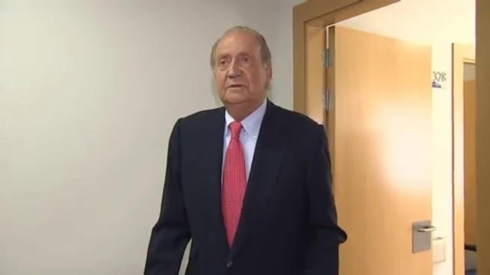 El rei Joan Carles demana disculpes pel viatge a Botswana