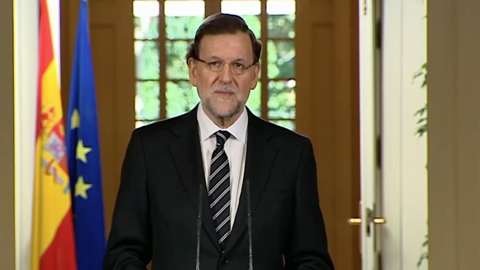 Rajoy anuncia l'abdicació de Joan Carles I