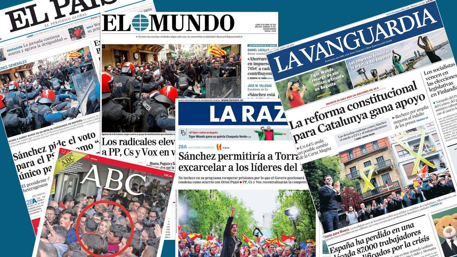 L'anàlisi d'Antoni Bassas: 'Rivera i Cayetana, la campanya dels incidents'