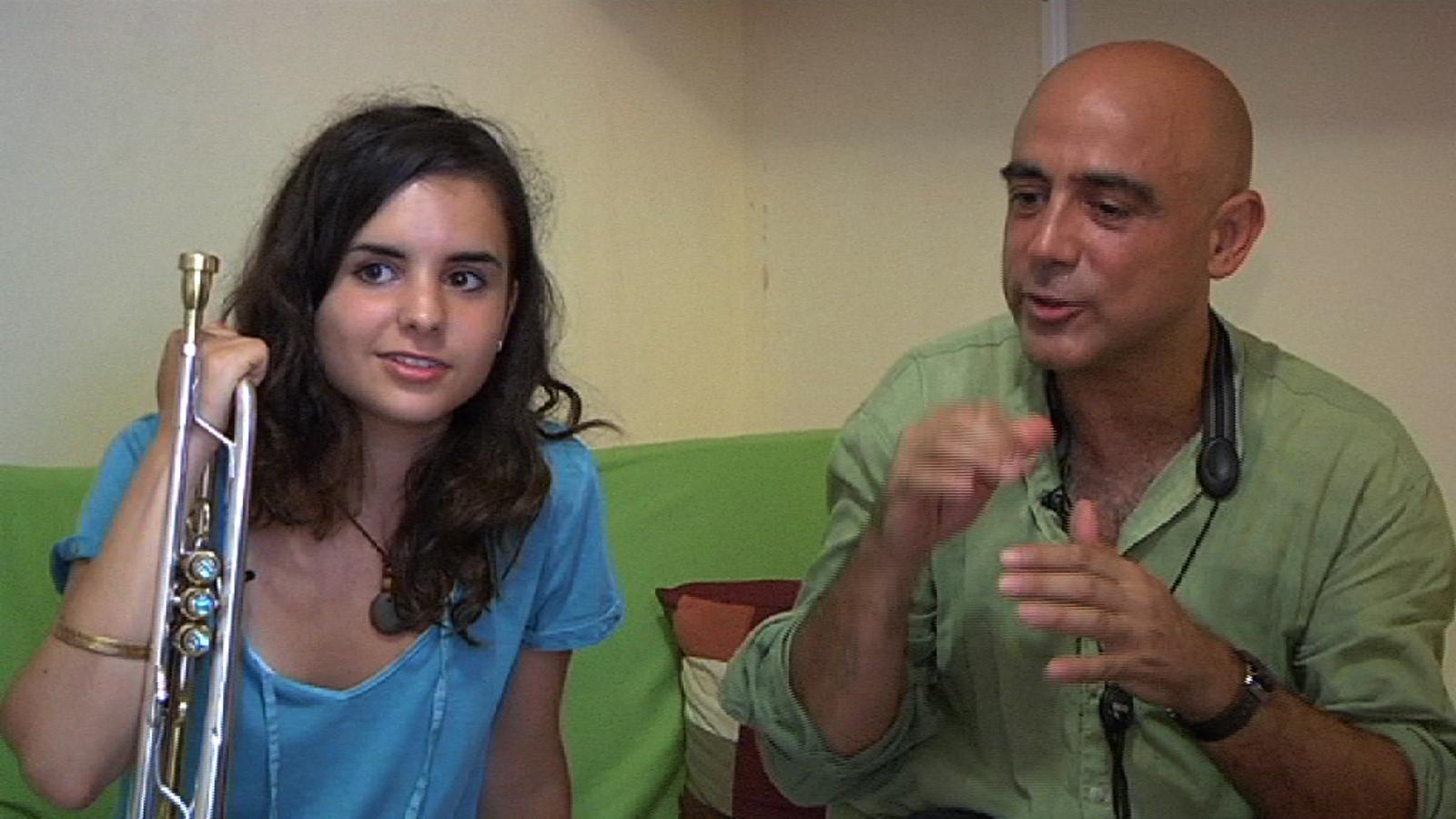 Andrea Motis: Els meus pares saben que estic bé perquè viuen el meu dia a dia amb mi