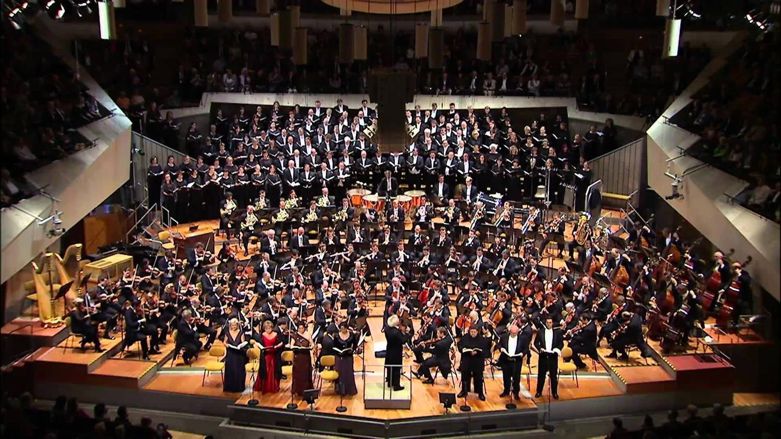 Imatge d'arxiu de l'orquesta Filharmònica de Berlín. / Berlin Philarmoniker