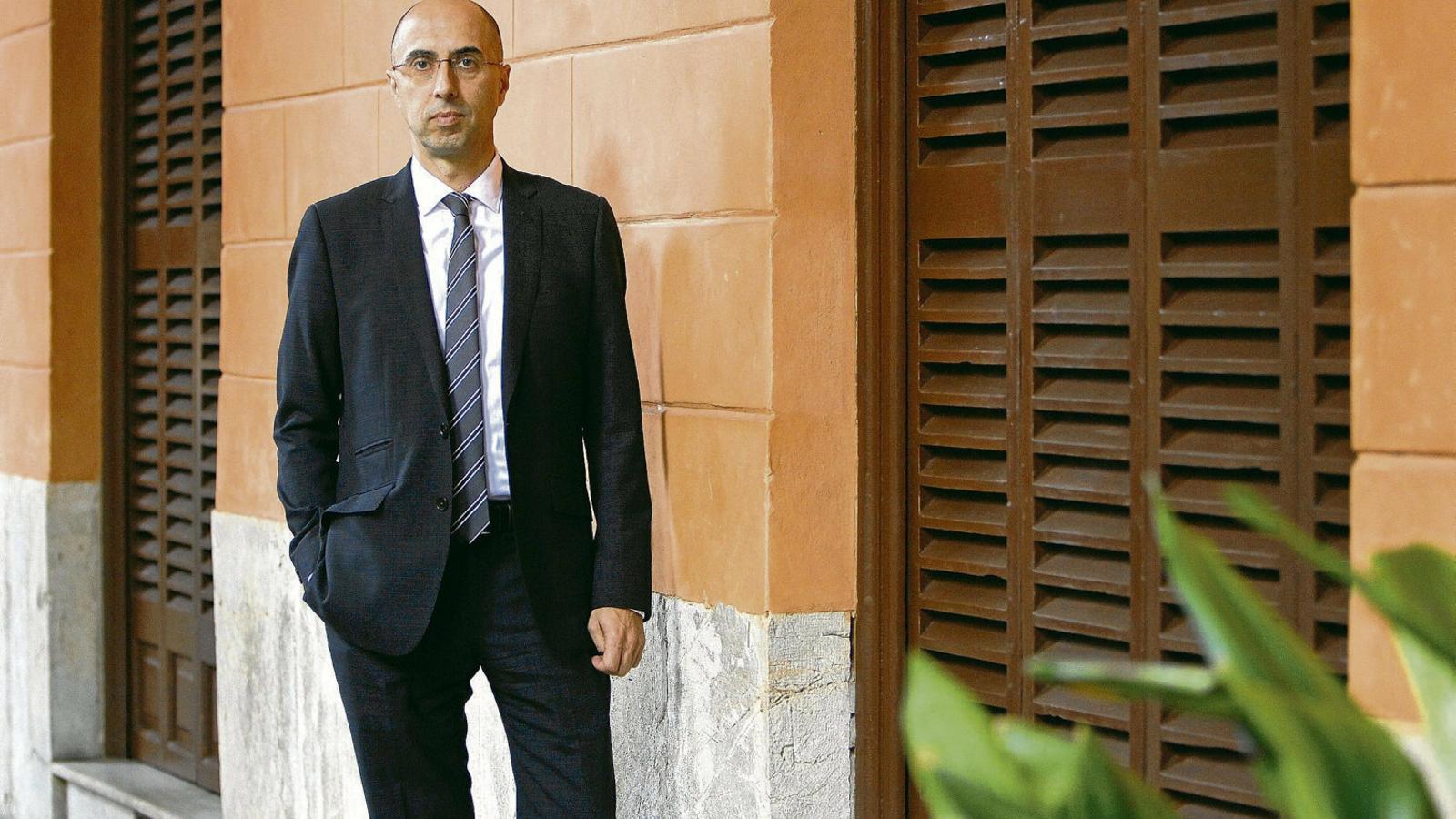 El director de l'Oficina Anticorrupció, Jaume Far, en una imatge d'arxiu