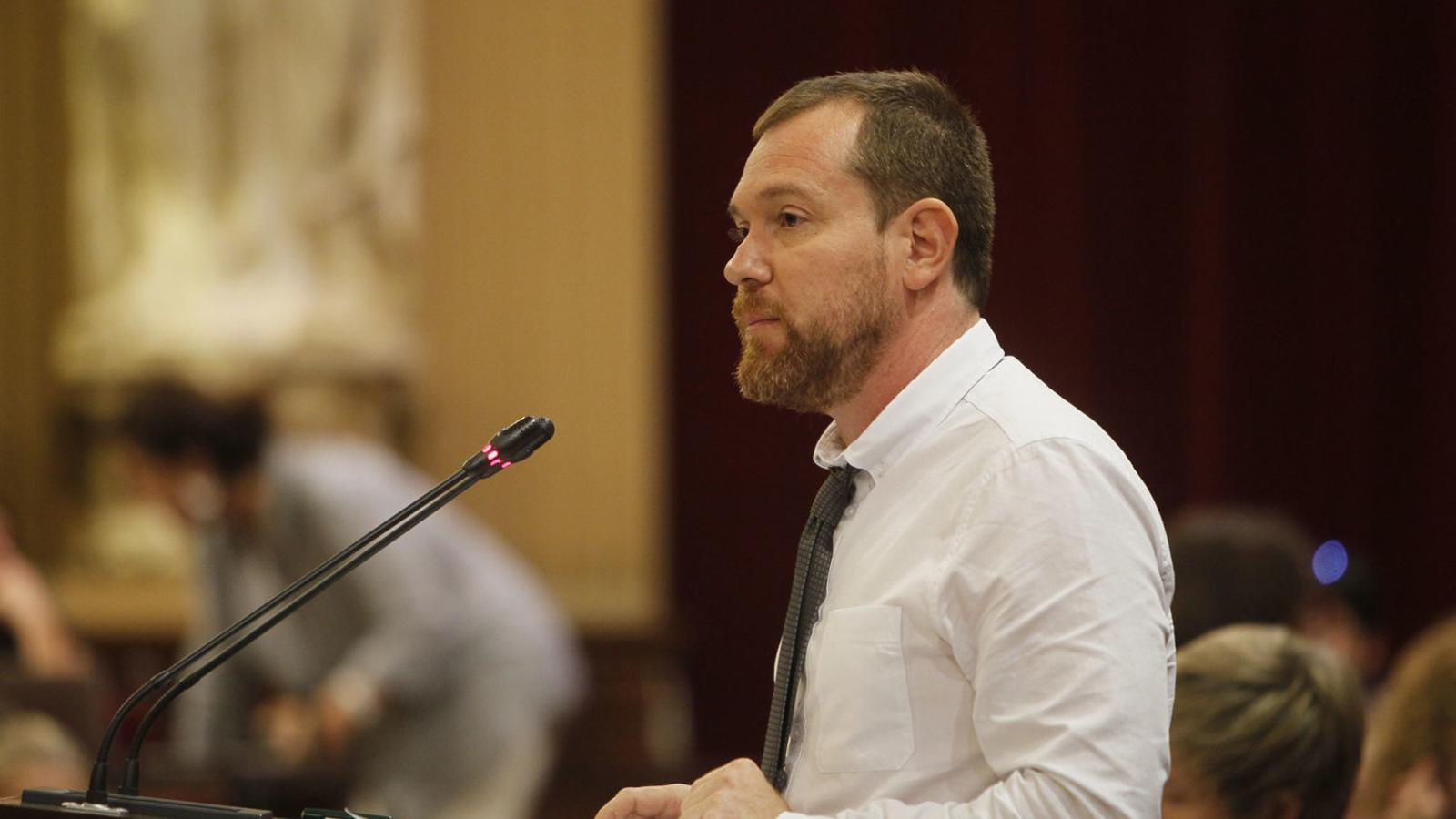 El portaveu de MÉS, David Abril