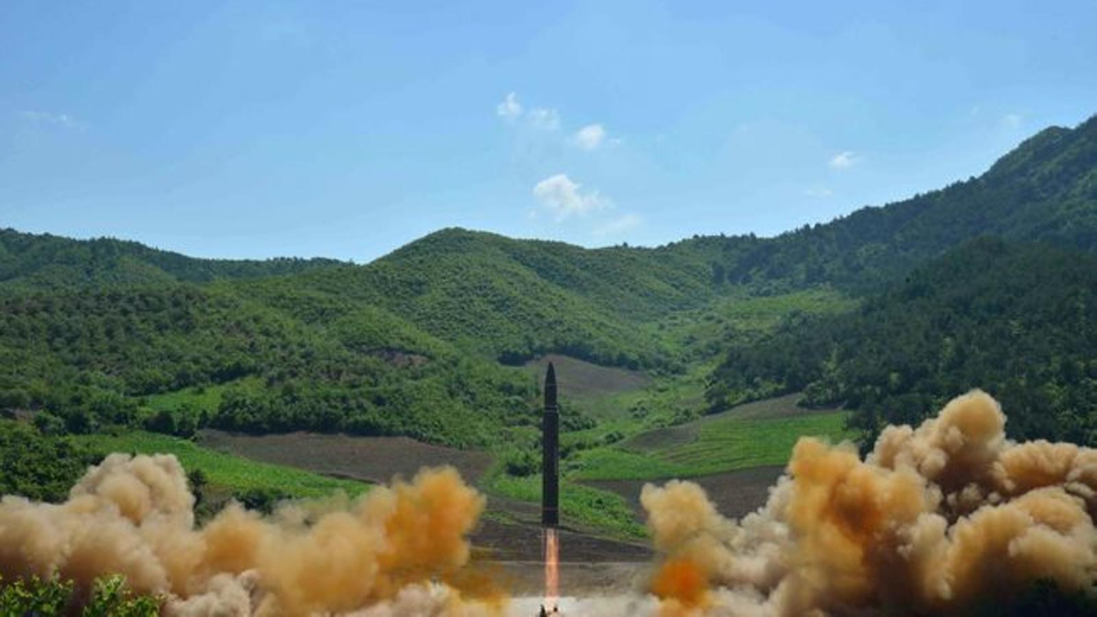 Cronologia del pla d'armament de Corea del Nord