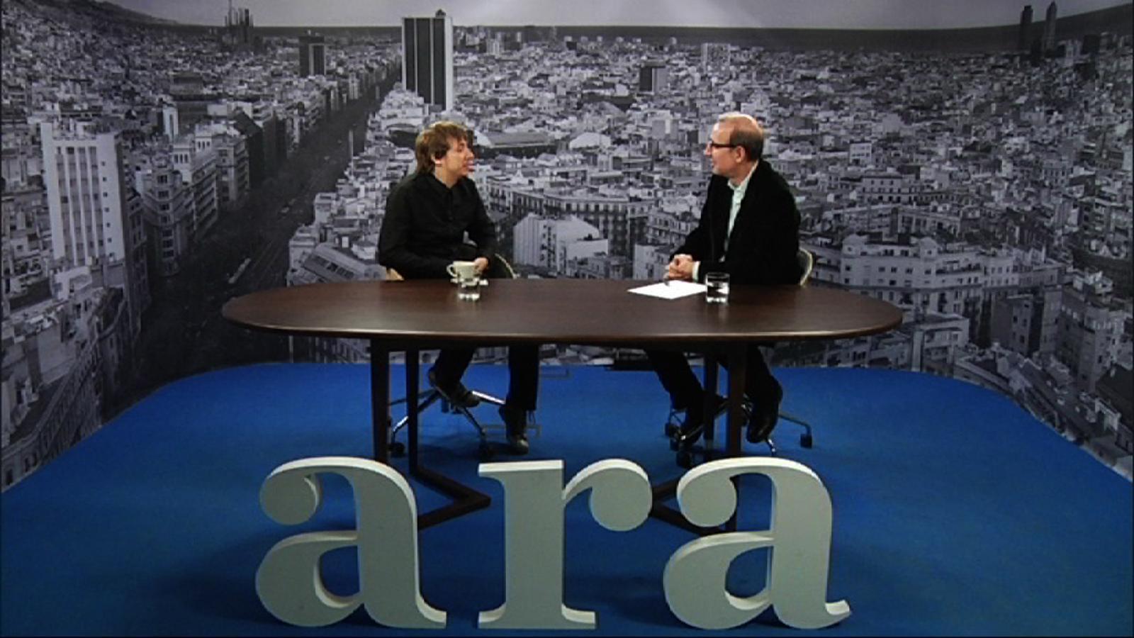Antoni Bassas entrevista a Xavier Rubio