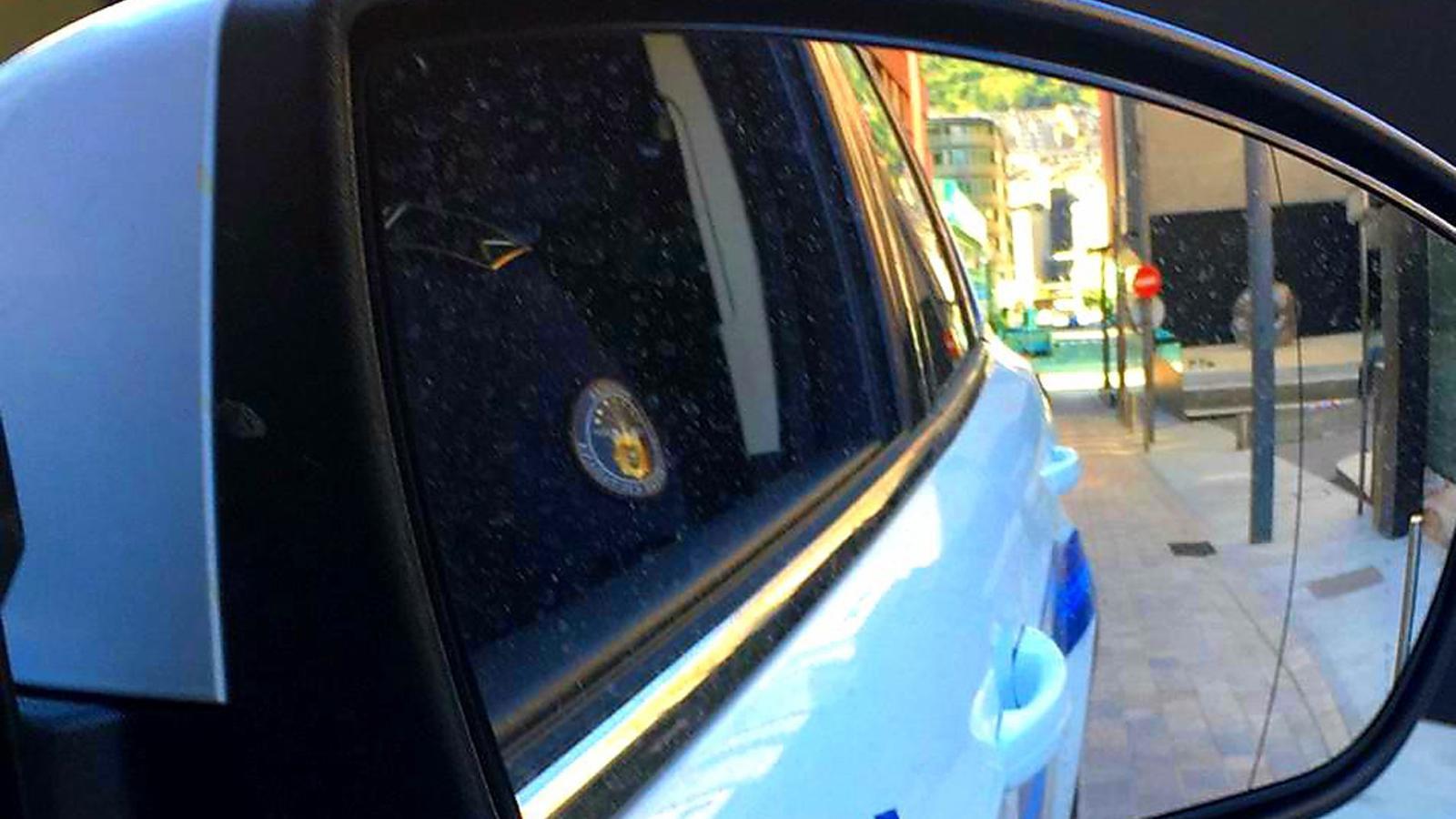 Una imatge d'un vehicle patrulla de la policia. / TWITTER POLICIA D'ANDORRA