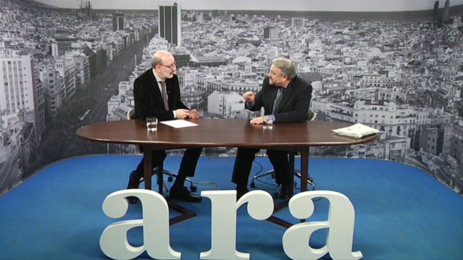 Entrevista d'Antoni Bassas al doctor Josep Ramon Germà