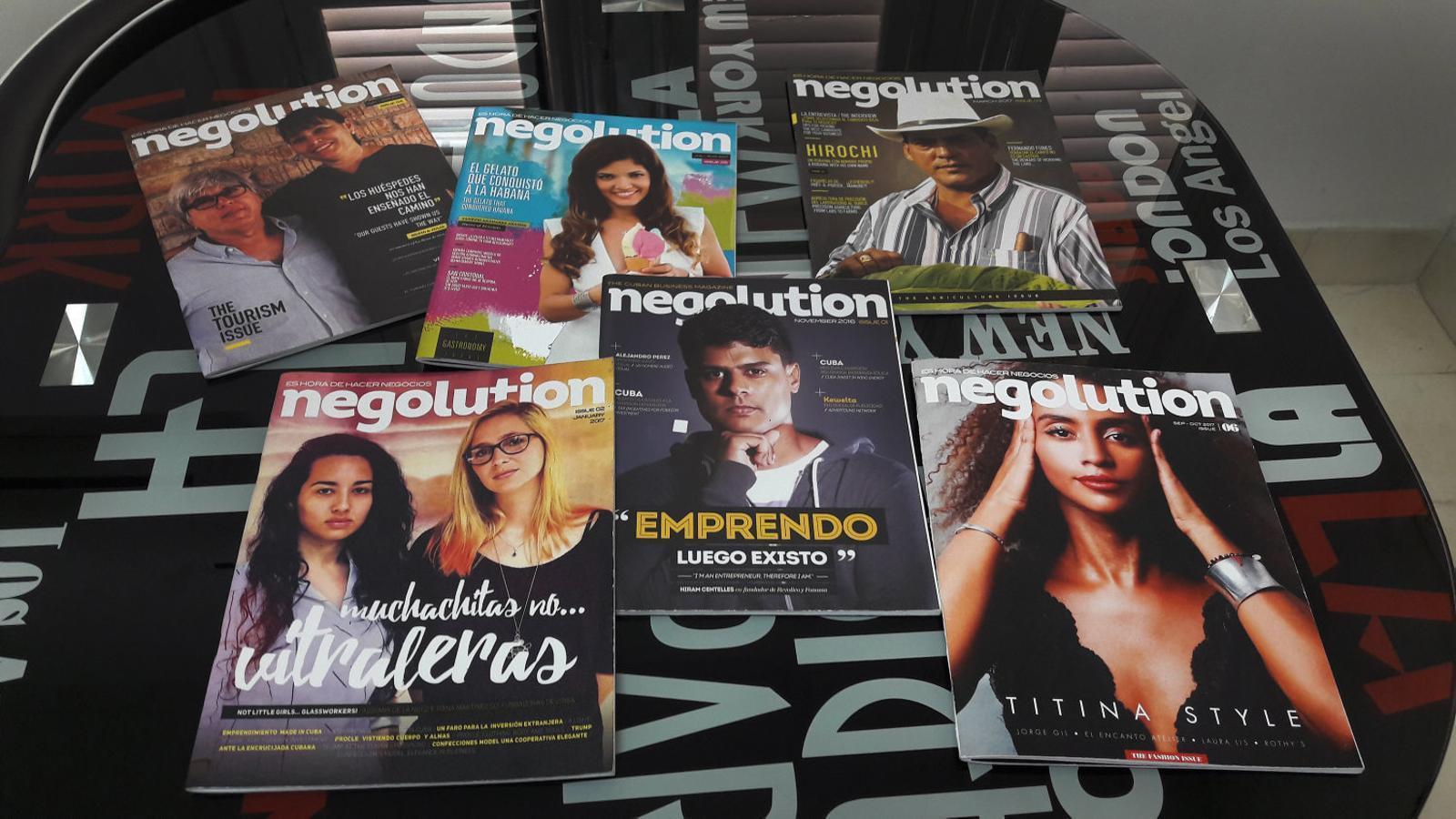 Negolutionés una de les revistes independents que han començat a esquerdar el sistema mediàtic oficial cubà.