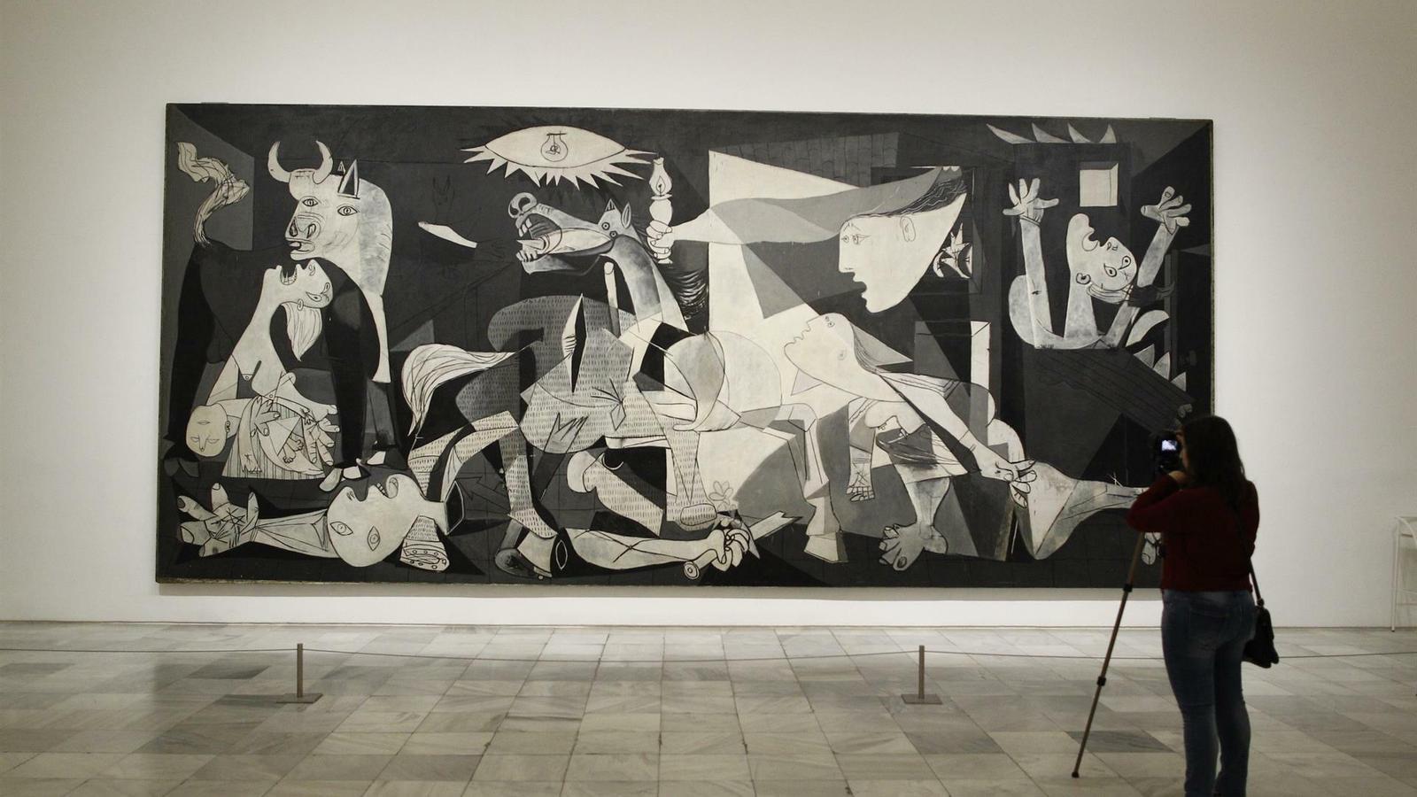 L'ONU demana perdó per haver atribuït les atrocitats retratades al Guernica al govern de la República