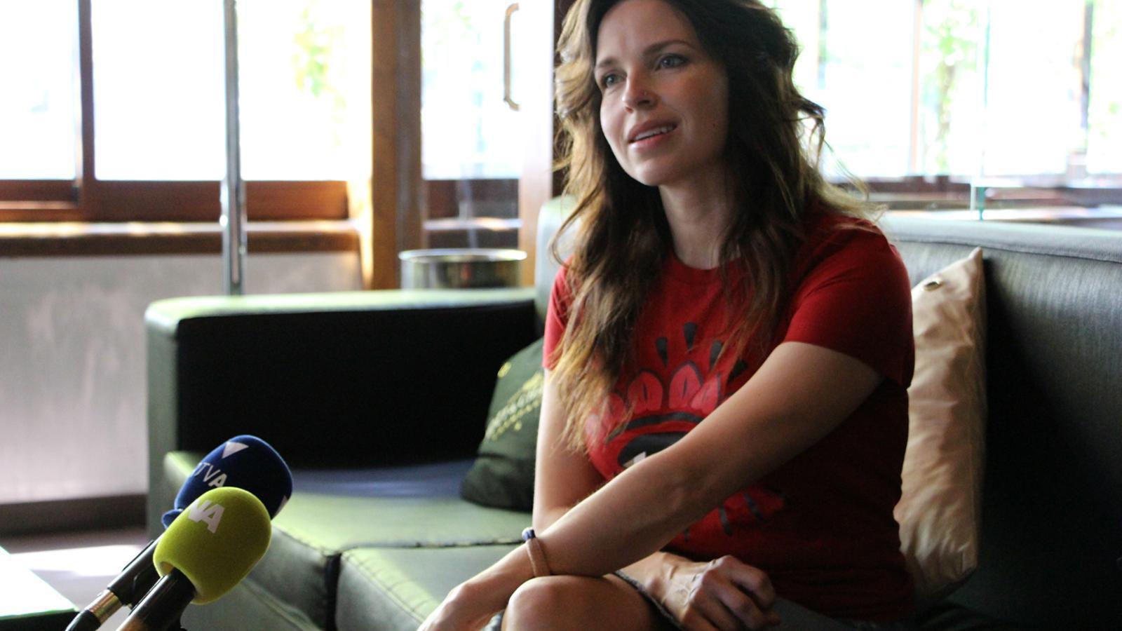 La directora creativa de 'Rebel', Lydia Bouchard. / T. N. (ANA)