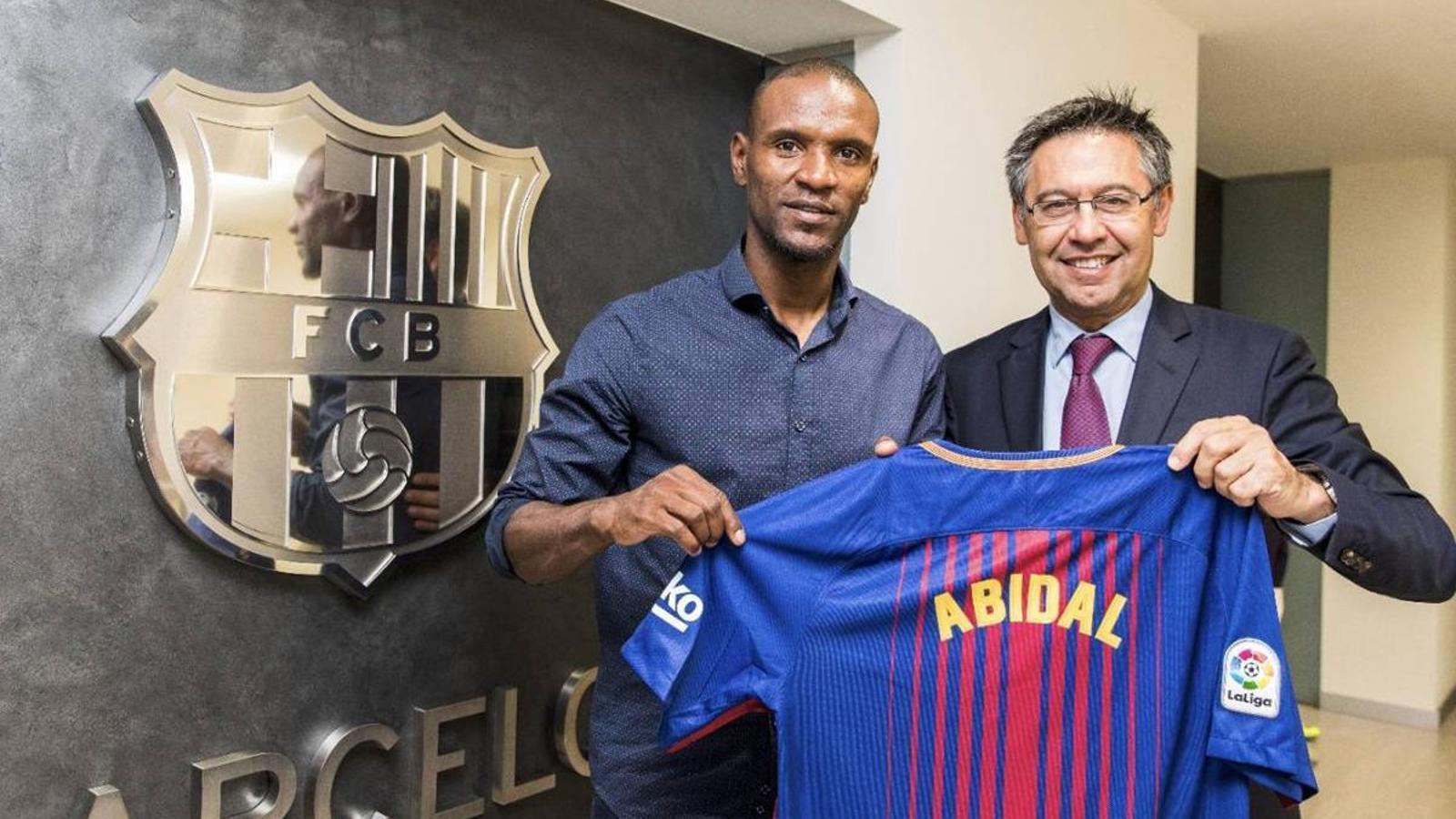 """Abidal: """"El Barça és favorit a la Lliga de Campions"""""""