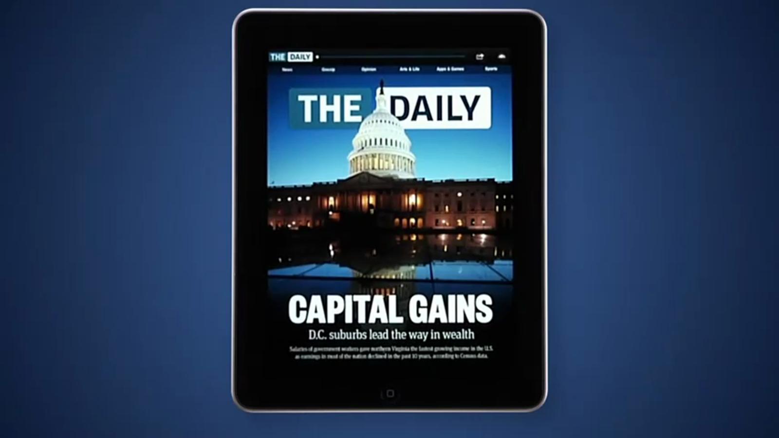 Vídeo de presentació de 'The daily'
